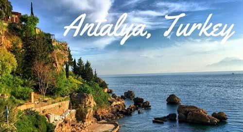 سواحل آنتالیا