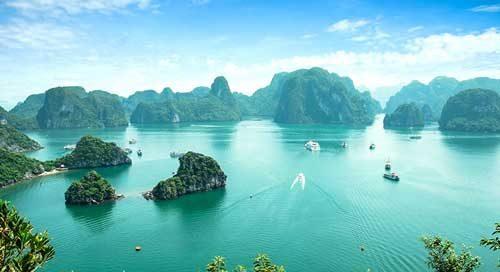 ساحل هالونگ بی ویتنام