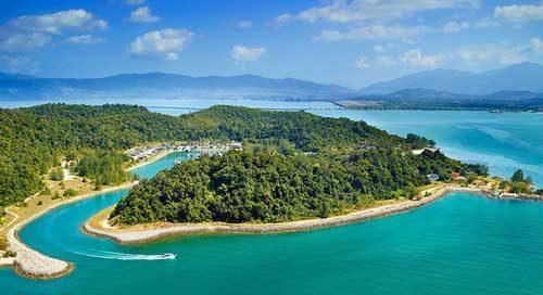 سواحل لنکاوی مالزی