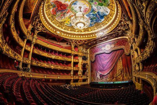 کاخ اپرای گارنیه پاریس