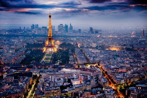 نمای شهر پاریس