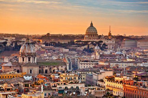 نمای شهر رم