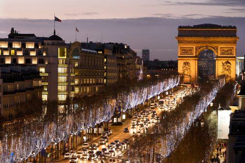 خیابان شانزلیزه فرانسه