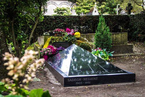 مقبره صادق هدایت در فرانسه