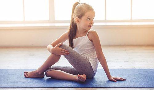 کلاس یوگا برای کودکان و افراد کم توان و معلول