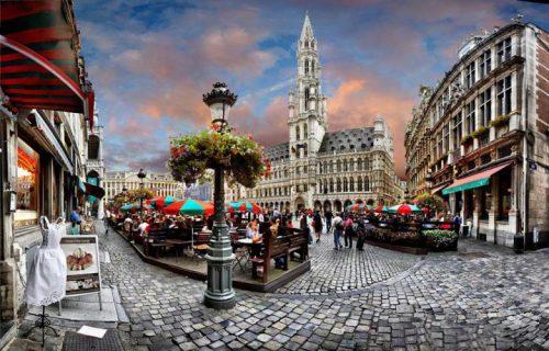مرکز شهر بروکسل