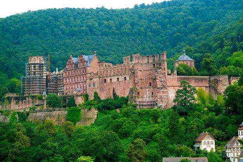 قلعه شهر هایدلبرگ