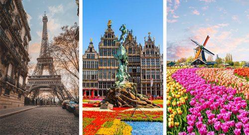 تور فرانسه بلژیک هلند