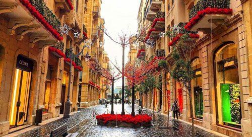 تور بیروت لبنان