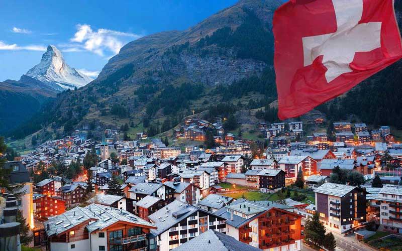 سفر به سوئیس در عید 99